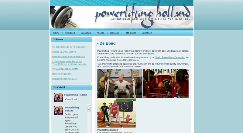 Powerlifting Holland
